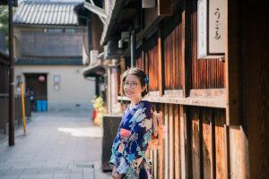 Beautiful Kimono Photography Session in Winter Kyoto!