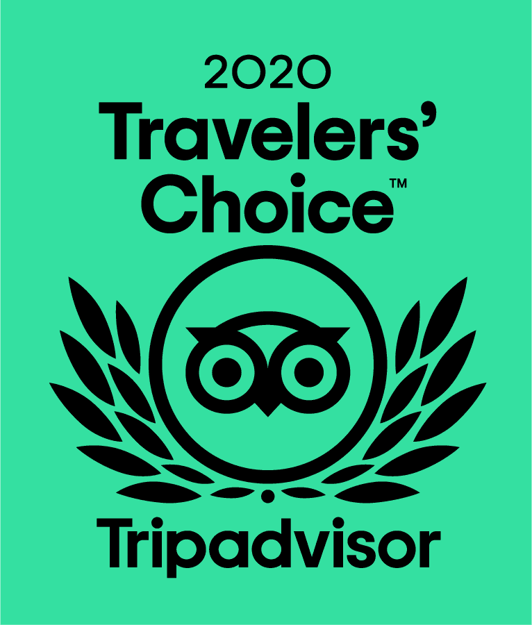 TripAdvisor Travelers' Choice 2020 Award!!!